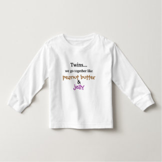 Twins - Peanut Butter & Jelly T-shirts