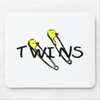 Twins (Pins) Mouse Pad
