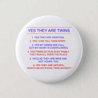 Twins Questions Identical Button
