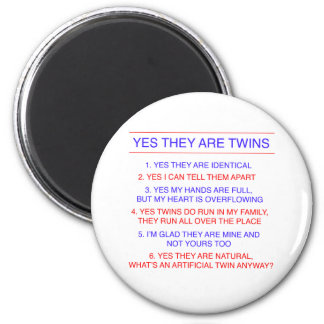 Twins Questions Identical Magnet