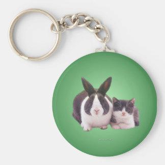 twins_rnd_ornament keychain