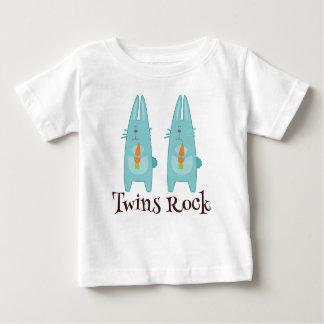 Twins Rock Bunny Tee Shirt