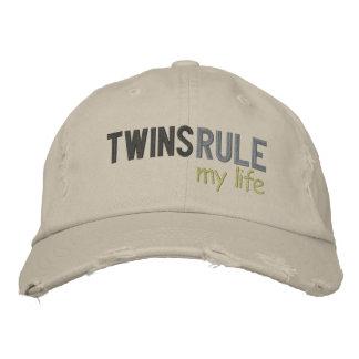 TWINS RULE my life Cap