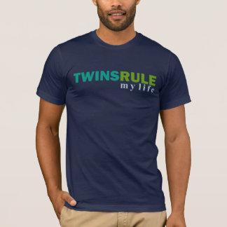 TWINS RULE my life T-shirt