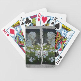 Twins Saying Goodbye Bicycle Playing Cards