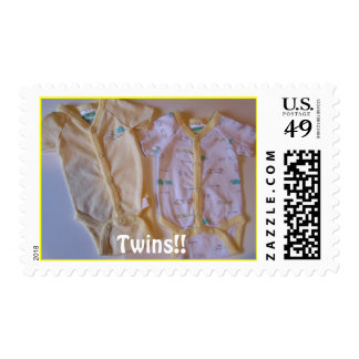 Twins stamp