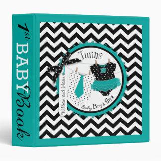Twins Tie Tutu Memory Book Album 3 Ring Binder