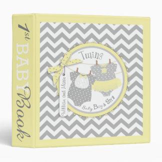Twins Tie Tutu Memory Book Album Vinyl Binder