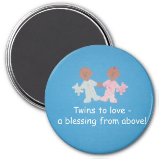 Twins to love! magnet
