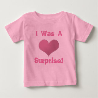 Twins Tripplets I Was A Surprise etc I Was Not etc Baby T-Shirt