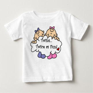 Twins Twice as Fun Infant T-shirt