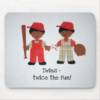 Twins - twice the fun! mouse pad