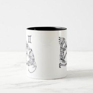 Twins Two-Tone Coffee Mug