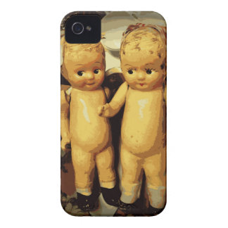 Twins Vintage Dolls Case-Mate iPhone 4 Case