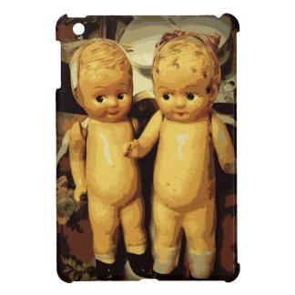 Twins Vintage Dolls iPad Mini Covers