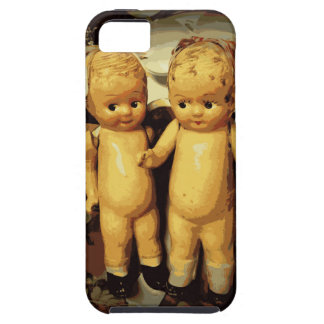 Twins Vintage Dolls iPhone SE/5/5s Case