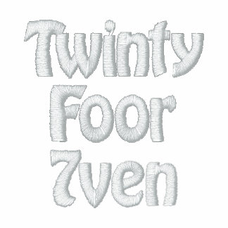 Twinty Foor 7ven/Diva Embroidered Hoodie