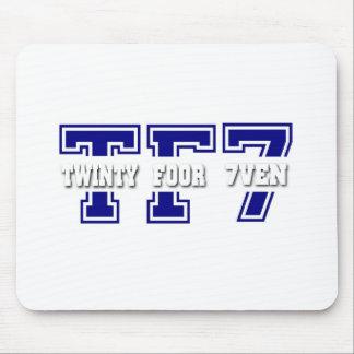 Twinty Foor 7ven Mousepad