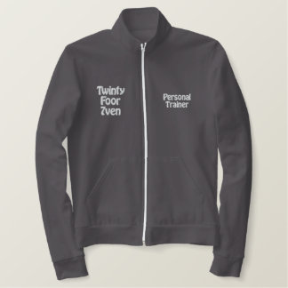 Twinty Foor 7ven/Personal Trainer Embroidered Jacket