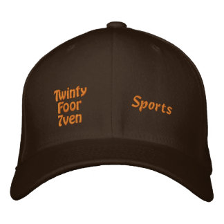 Twinty Foor 7ven - Sports Embroidered Baseball Hat