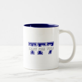 Twinty Foor 7ven Two-Tone Coffee Mug