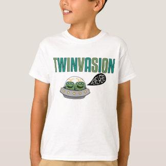 """TWINVASION """"estamos aquí """" Remera"""