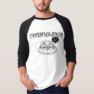 "TWINVASION ""We're Here!"" T-Shirt"