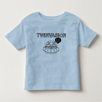 "TWINVASION ""We're Here!"" Toddler T-shirt"