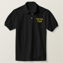 Twinz, Dad Embroidered Polo Shirt