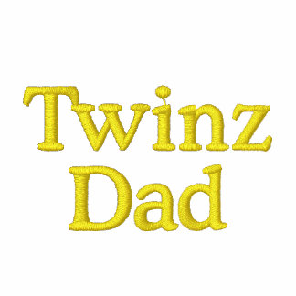 Twinz, Dad Embroidered Polo Shirts