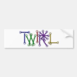 Twirl Bumper Sticker