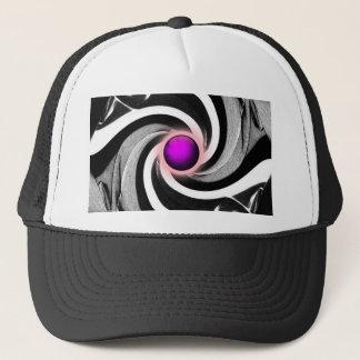 Twirl, Circle, Fashion Art Trucker Hat