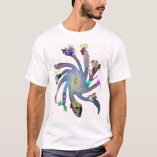 Twirl flower T-Shirt