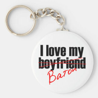 Twirl I love my Baton Keychains
