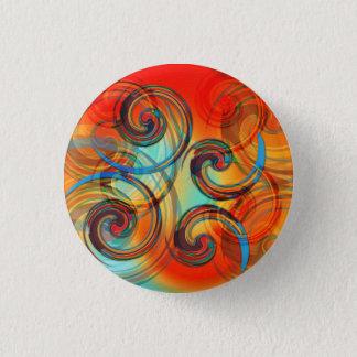 Twirl Pinback Button