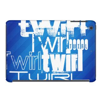 Twirl; Royal Blue Stripes iPad Mini Retina Covers