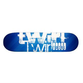 Twirl; Royal Blue Stripes Skateboards