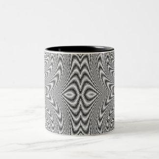 twirl Two-Tone coffee mug