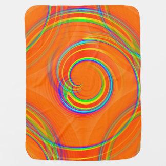 Twirl Receiving Blanket