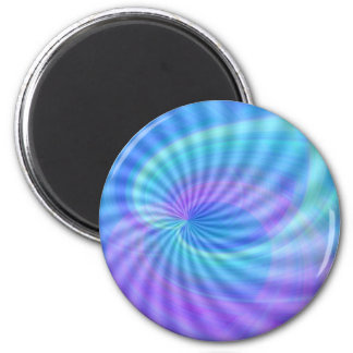 Twirled Hearts 2 Inch Round Magnet