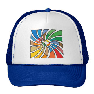 Twirled Recycle Trucker Hat