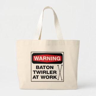 Twirler at Work Tote Bag
