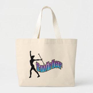 Twirler Canvas Bags