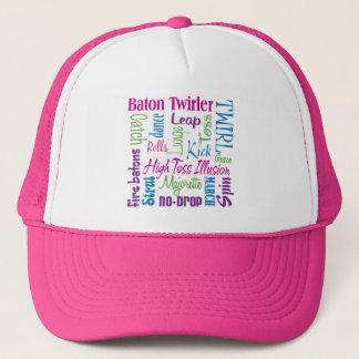 Twirler Collage Trucker Hat