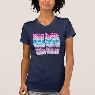 Twirler de bastón camisetas