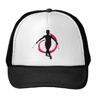 TWIRLER SWIRL PINK/BLACK TRUCKER HAT