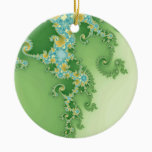 Twirligig - Fractal Ceramic Ornament