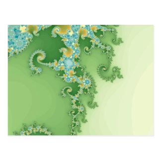 Twirligig - fractal postales