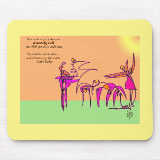 Twirling - Dancer Mouse Pad