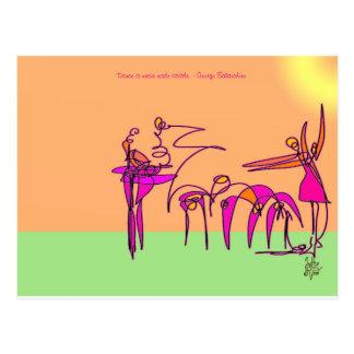 Twirling - Dancer Postcard
